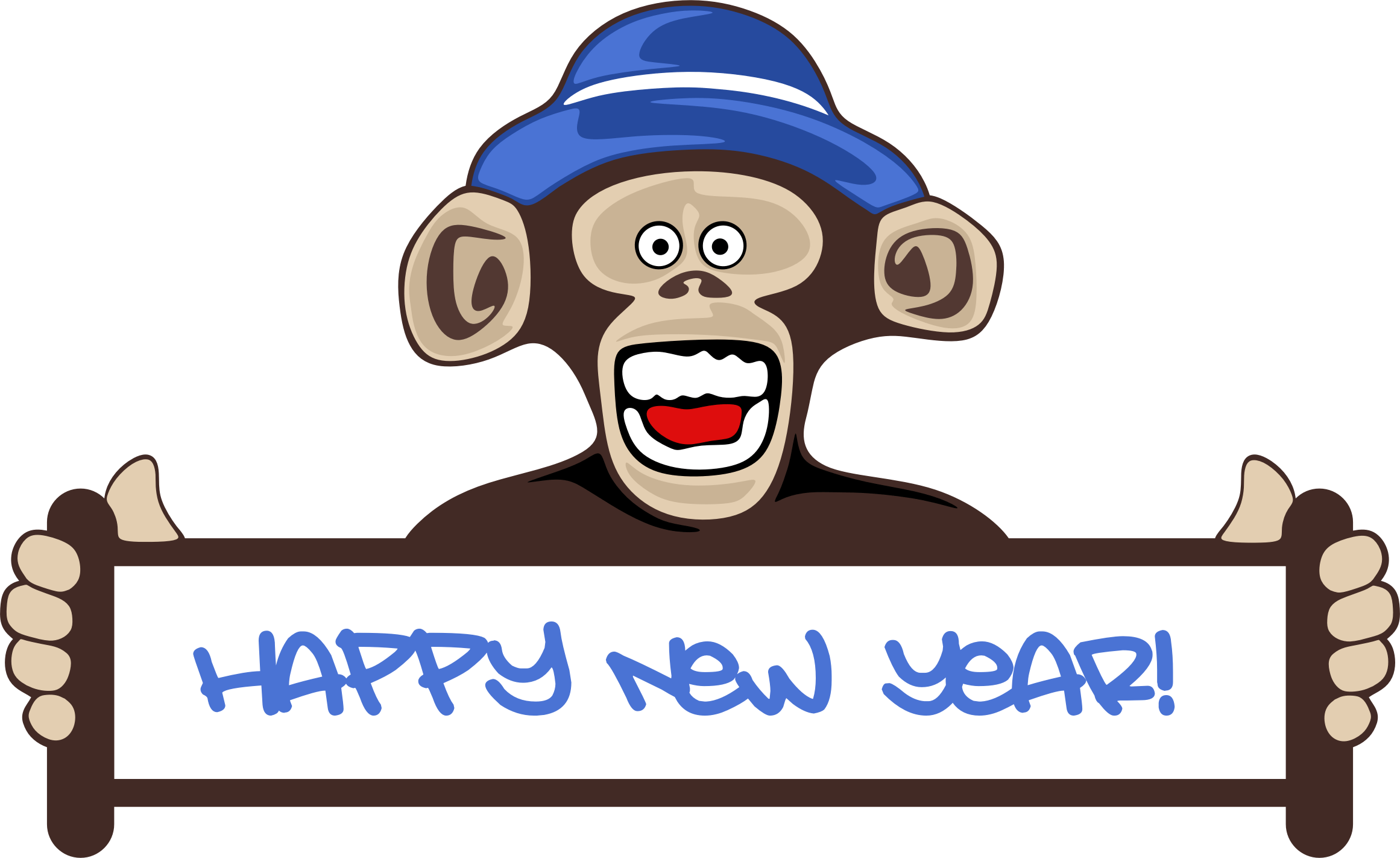 2322x1422 Happy New Year Clipart 2018