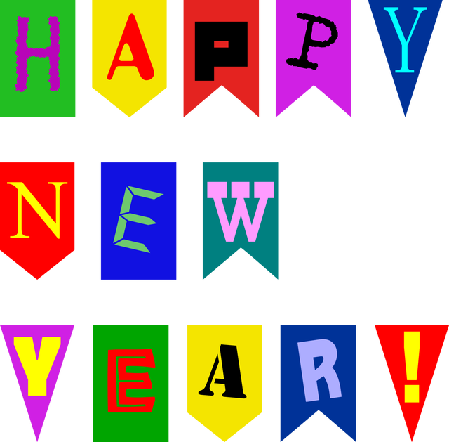 640x629 happy new year banner clip art