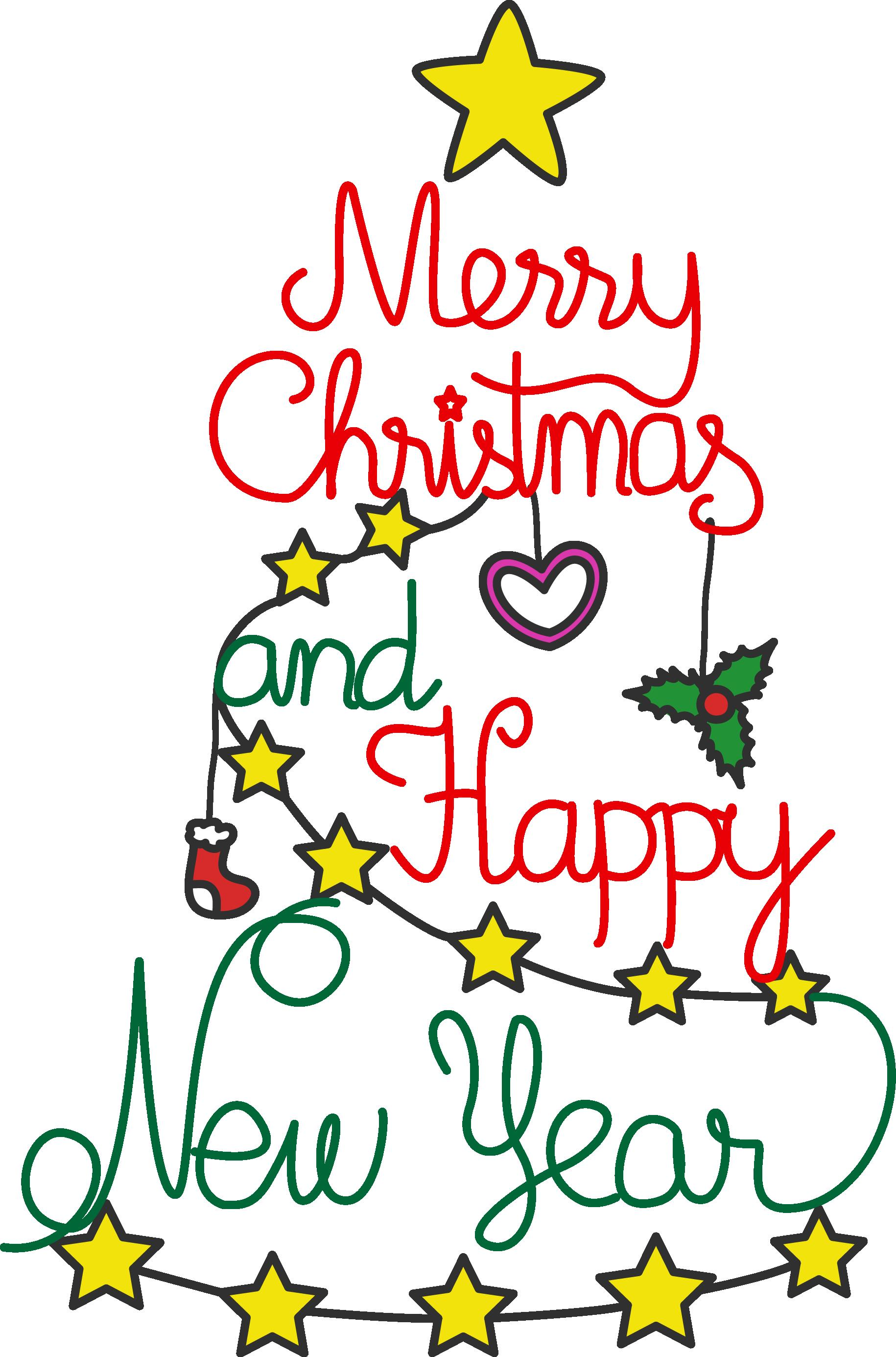 1830x2770 Merry Christmas And Happy New Year Clipart Free Download Clip Art