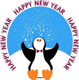 300x302 New Year Clipart Clipart Panda