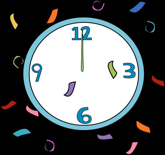 534x502 New Year Clock New Years Printablescrafts Clocks