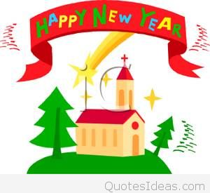 300x275 Christian Happy New Year Clipart Happy Holidays!