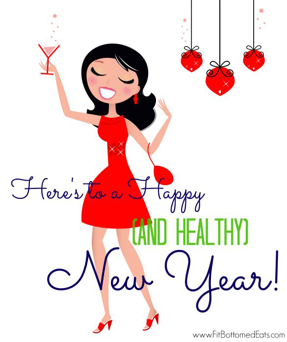 585x697 healthy new year clipart