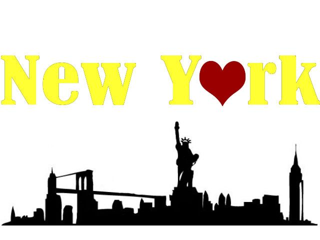 New York City Skyline Clipart