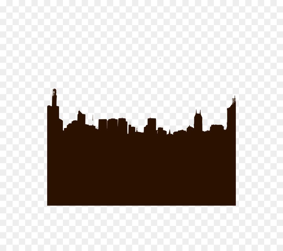 900x800 New York City Milan Skyline Silhouette