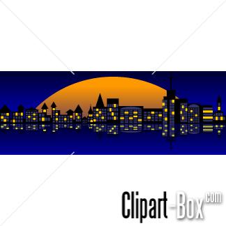 324x324 Best City Skyline Clip Art