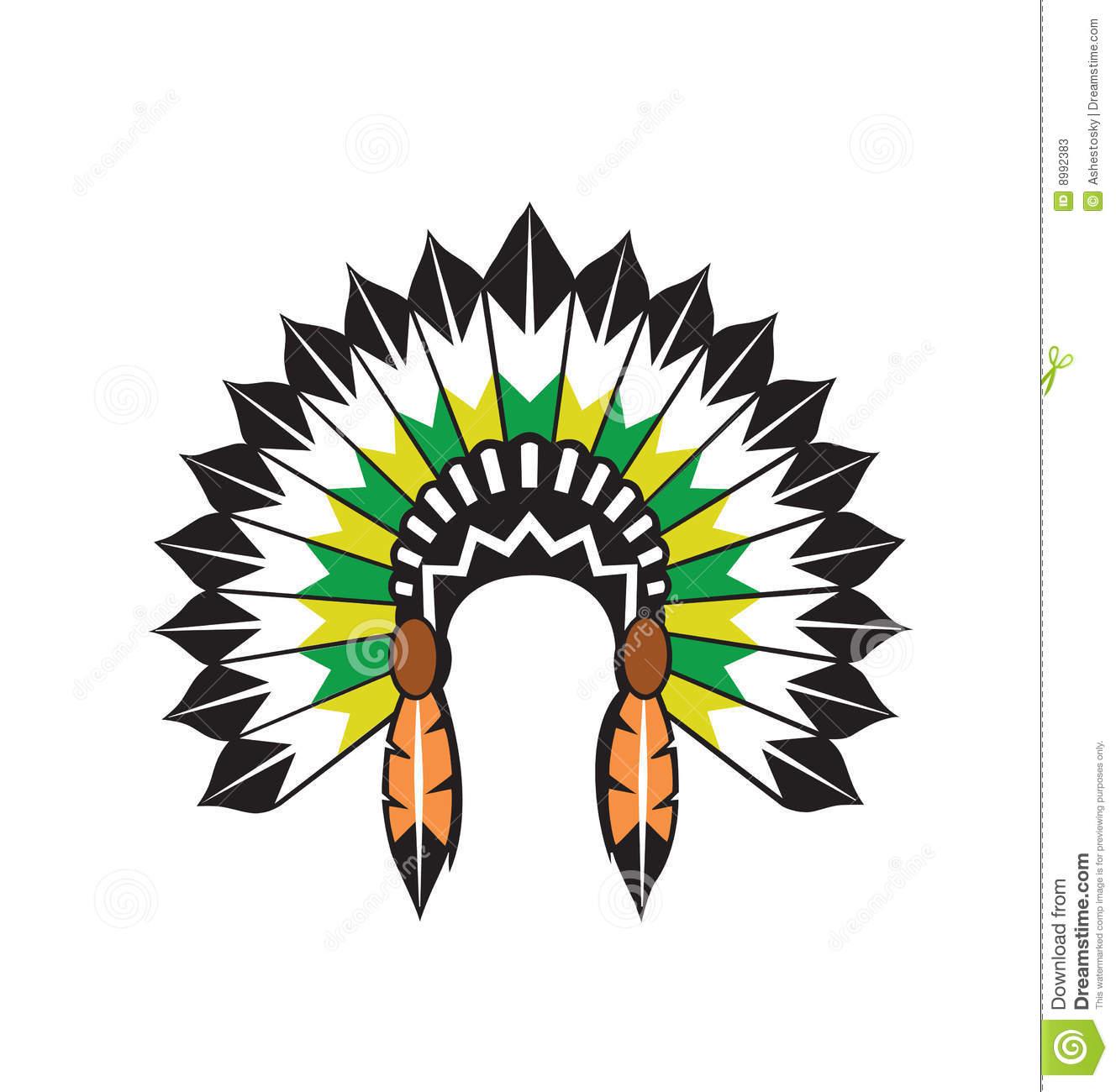 1328x1300 Indian Headdress Clipart