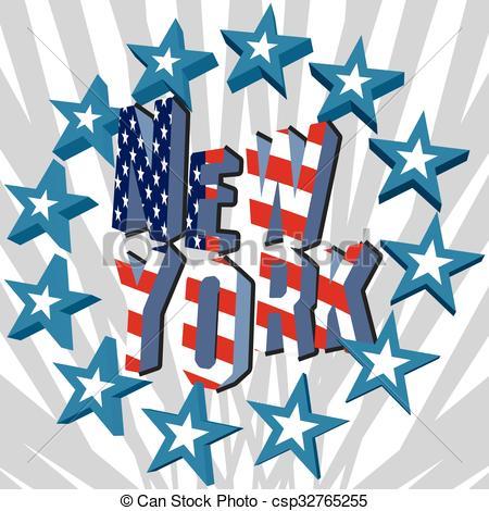 450x470 New York Retro Vintage Typography. New York City Retro Clipart