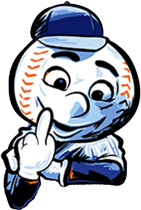 537x800 Ny Mets Mr. Met Middle Finger New York Mets Middle