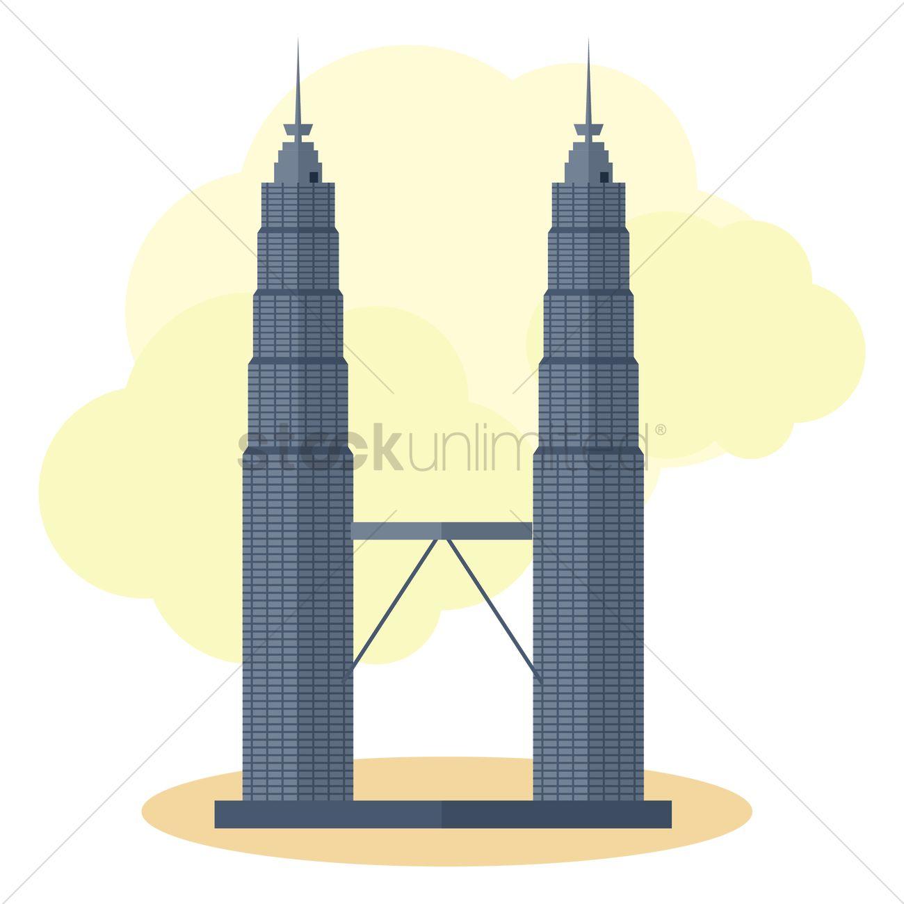 1300x1300 Clip Art Twin Towers Clip Art