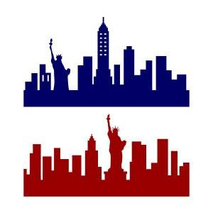 300x300 New York City Ny Skyline Svg Cuttable Design Cricut