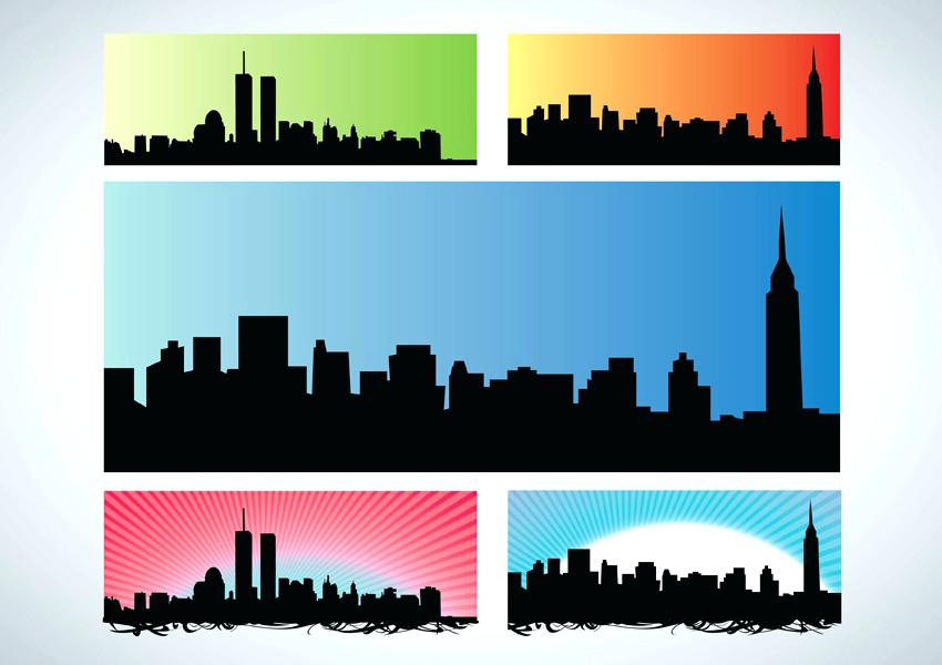 850x600 Nyc Skyline Outline Simple New Skyline Outline Google Search Nyc
