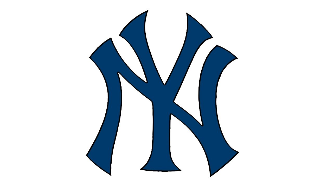 1280x720 How To Draw The New York Yankees Logo (Mlb)