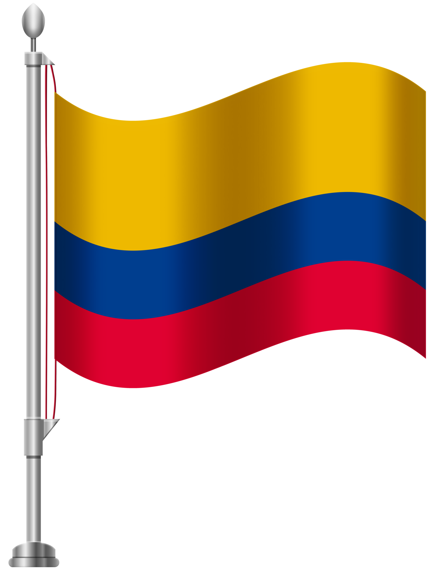 1536x2000 Colombia Flag Png Clip Art