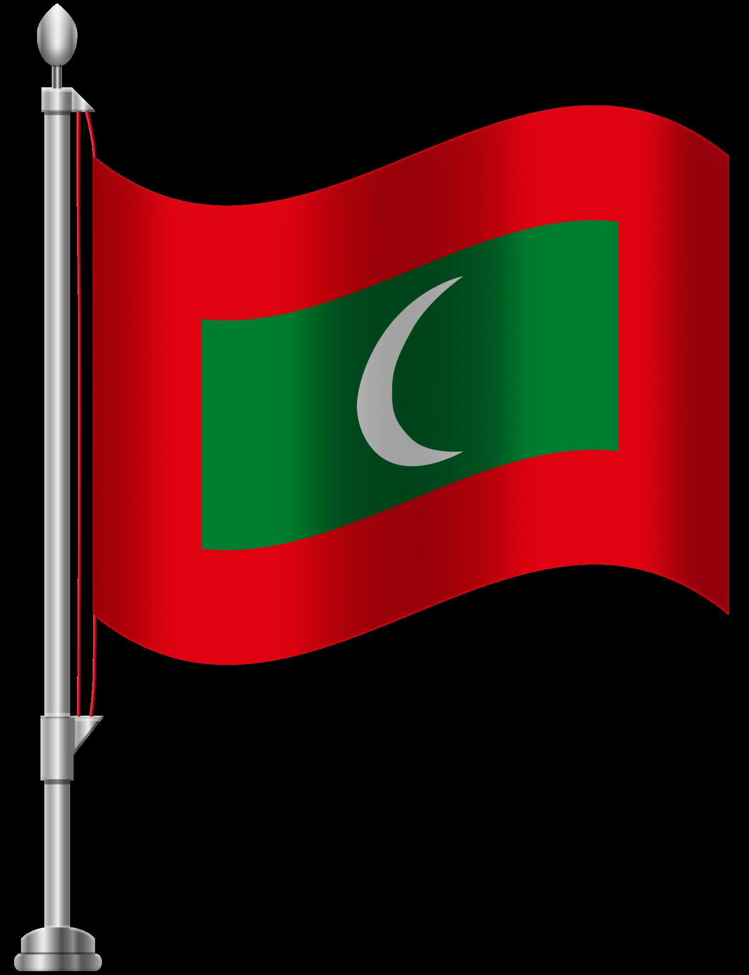 1536x2000 Maldives Flag Png Clip Art