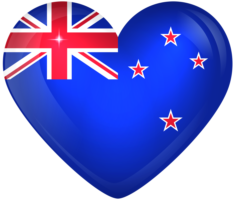 6000x5093 New Zealand Large Heart Flagu200b Gallery Yopriceville