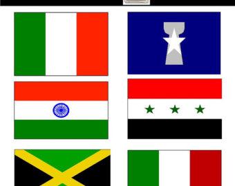 340x270 World Flag Clipart Flag Clipart Printable Flags World