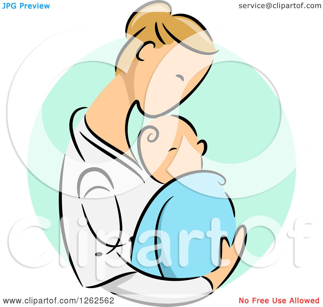 1080x1024 Clipart Of A Blond Caucasian Female Doctor Holding A Newborn Baby
