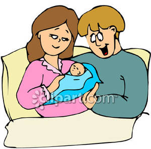 300x296 Newborn Baby Clipart Free
