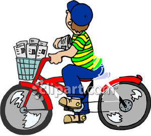 300x270 Collection Of Newspaper Boy Clipart High Quality, Free