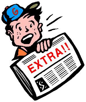 297x352 Newspaper Clipart Extra