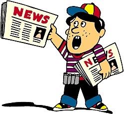 249x228 Nice Ideas Clipart Newspaper News Boy Regarding Clip Art Templates