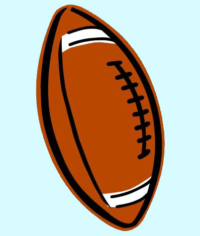 402x474 Football Free Clip Art Clipart Collection