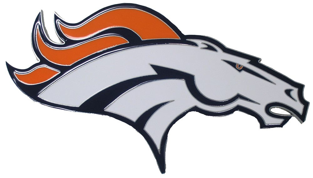 1000x568 Pleasing Denver Broncos Logo Clip Art Nfl Trailer Hitch
