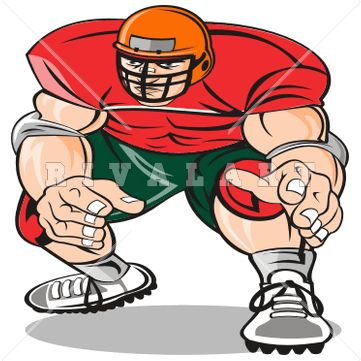 361x361 Football Player Clip Art