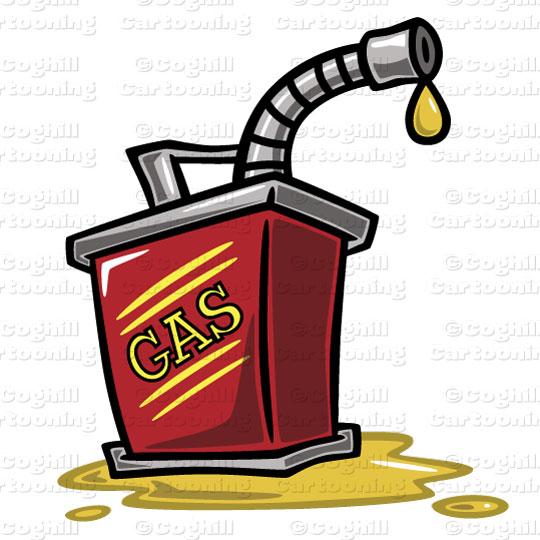 540x540 Gas Can Stock Illustration Cartoon Clipart