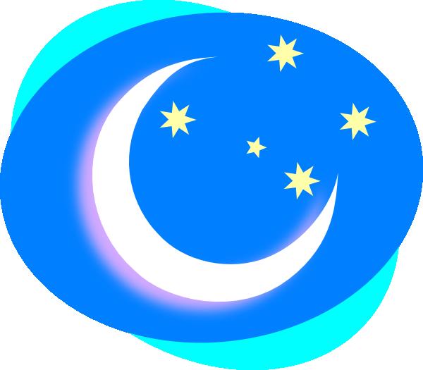 600x525 Crescent And Stars Clip Art