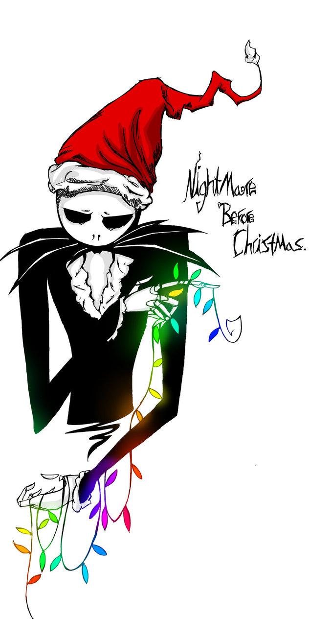 632x1264 Nightmare Before Christmas By Djambersky666