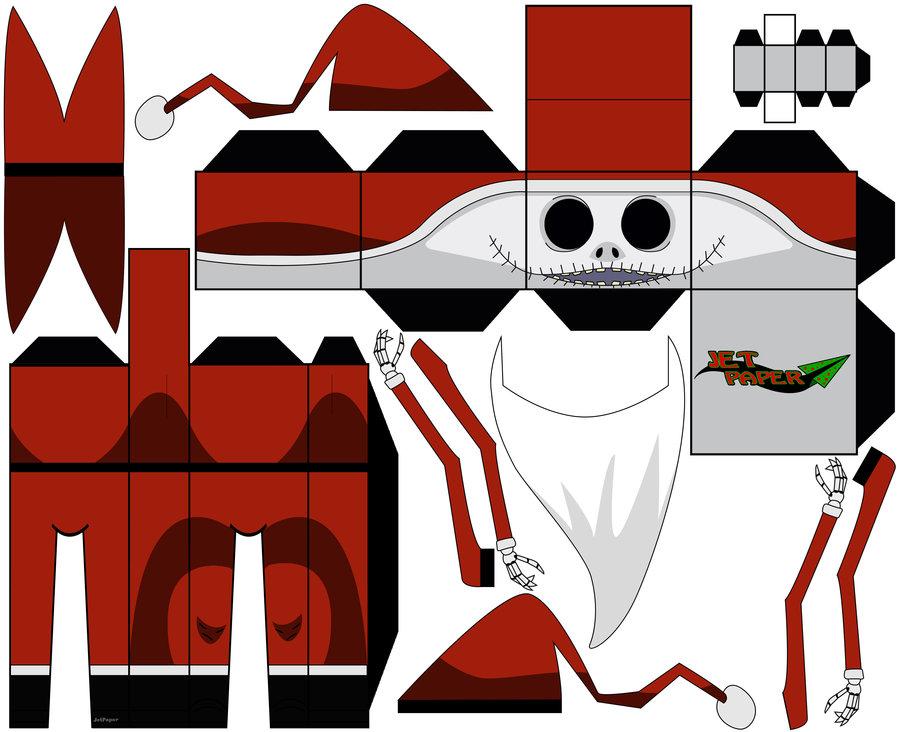 900x732 Santa Jack [Nightmare Before Christmas] By Jetpaper