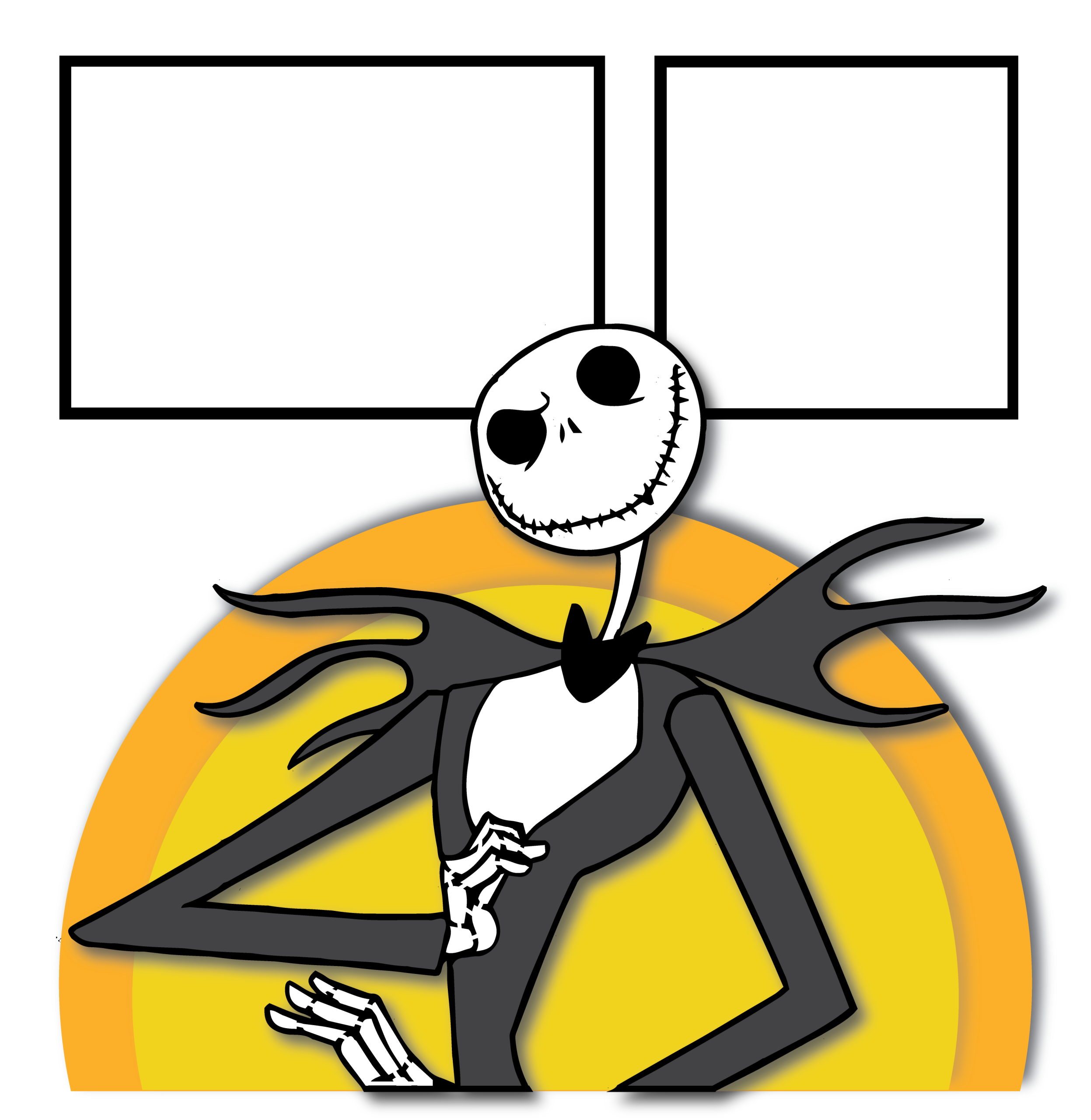 2494x2560 The Nightmare Before Christmas Quick Pages