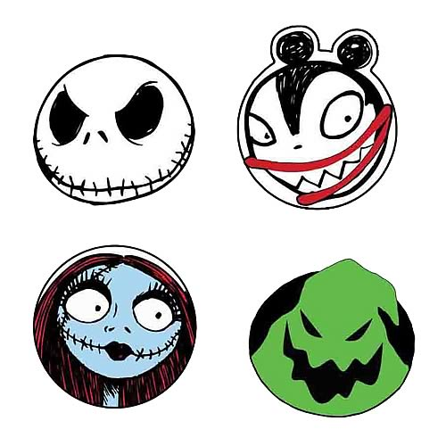 500x500 Collection Of Nightmare Before Christmas Clipart Free High
