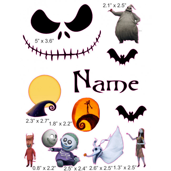 650x650 Nightmare Before Christmas Cranial Band Decoration From High