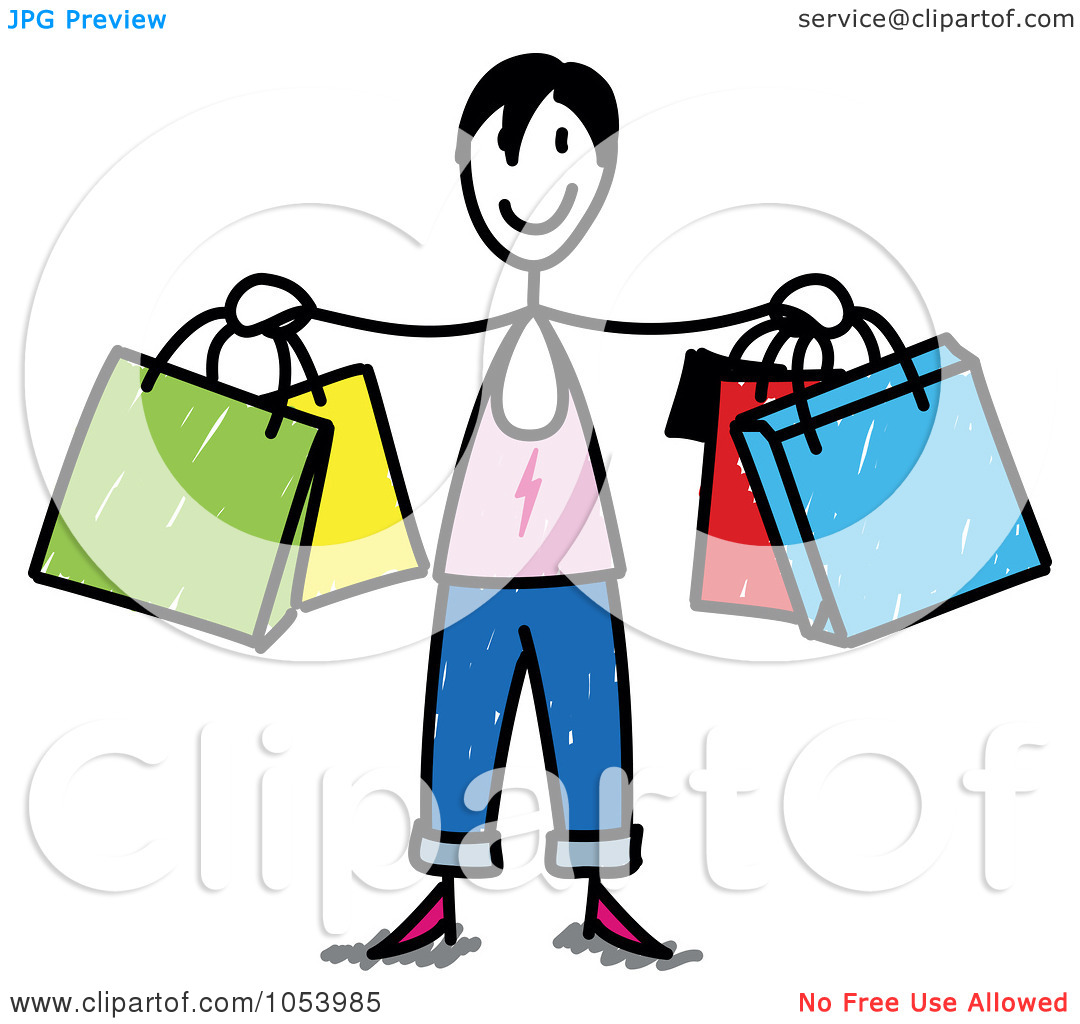 1080x1024 Shopping Clipart Free