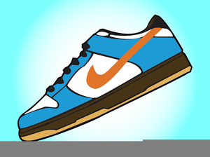 300x224 Nike Shoes Clipart Free Images
