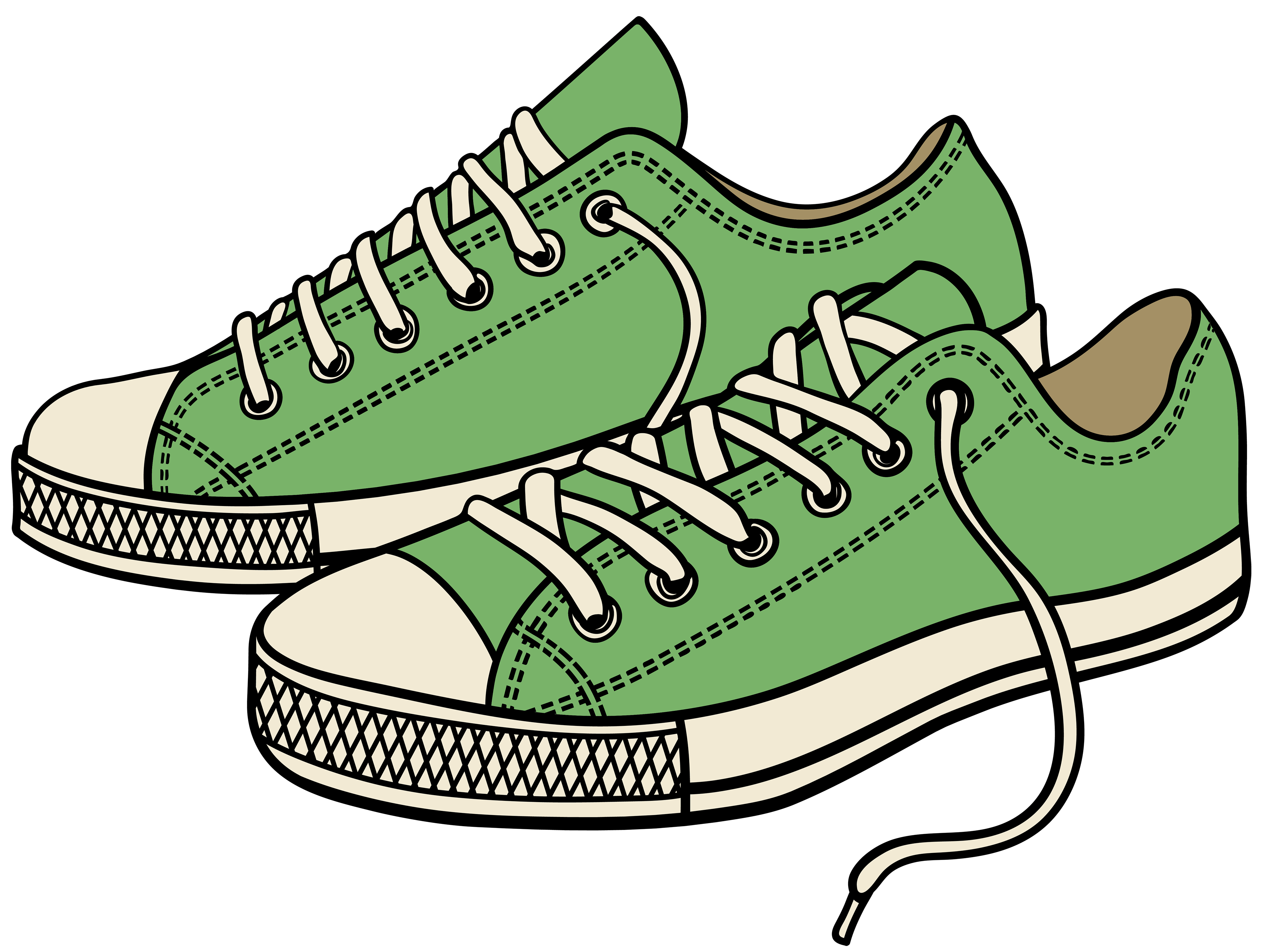 4000x3010 Sneakers Clipart Nike Air