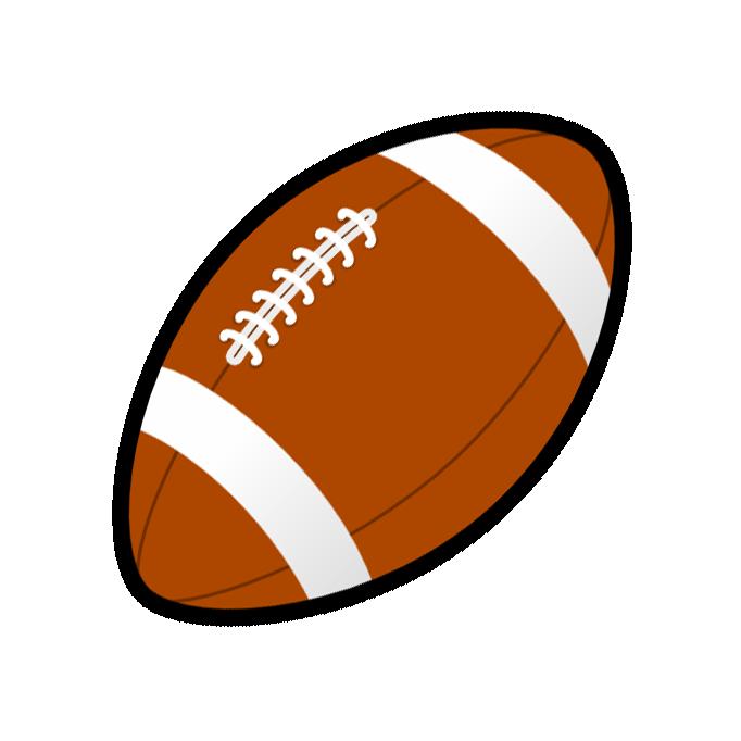 682x682 American Football Clipart