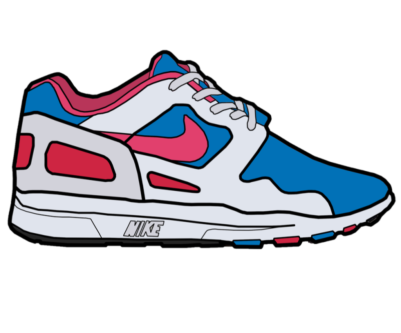 800x666 Collection Of Nike Clipart Shoes High Quality, Free Cliparts