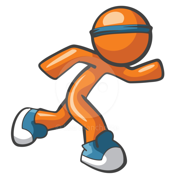 577x590 Track Running Shoes Clip Art Image