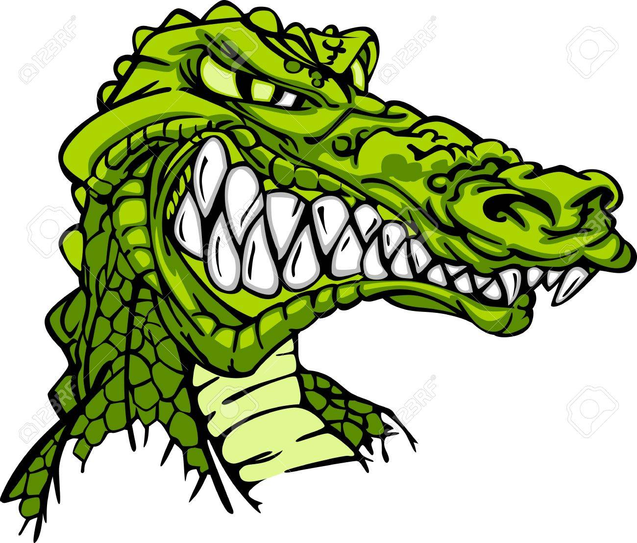 1300x1109 Crocodile Clipart Alligator Mascot