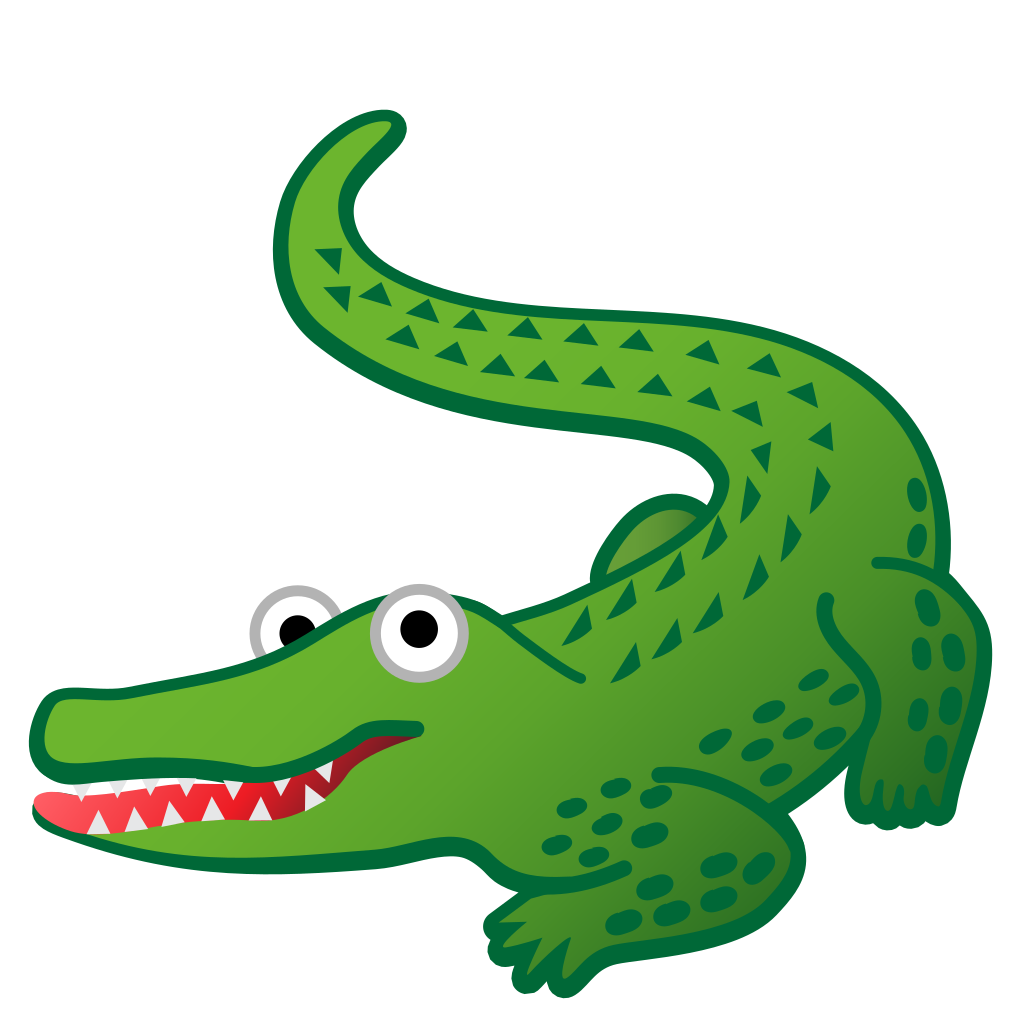 1024x1024 Crocodile Icon Noto Emoji Animals Nature Iconset Google