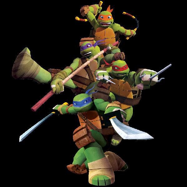 600x600 Ninja Turtle Clipart