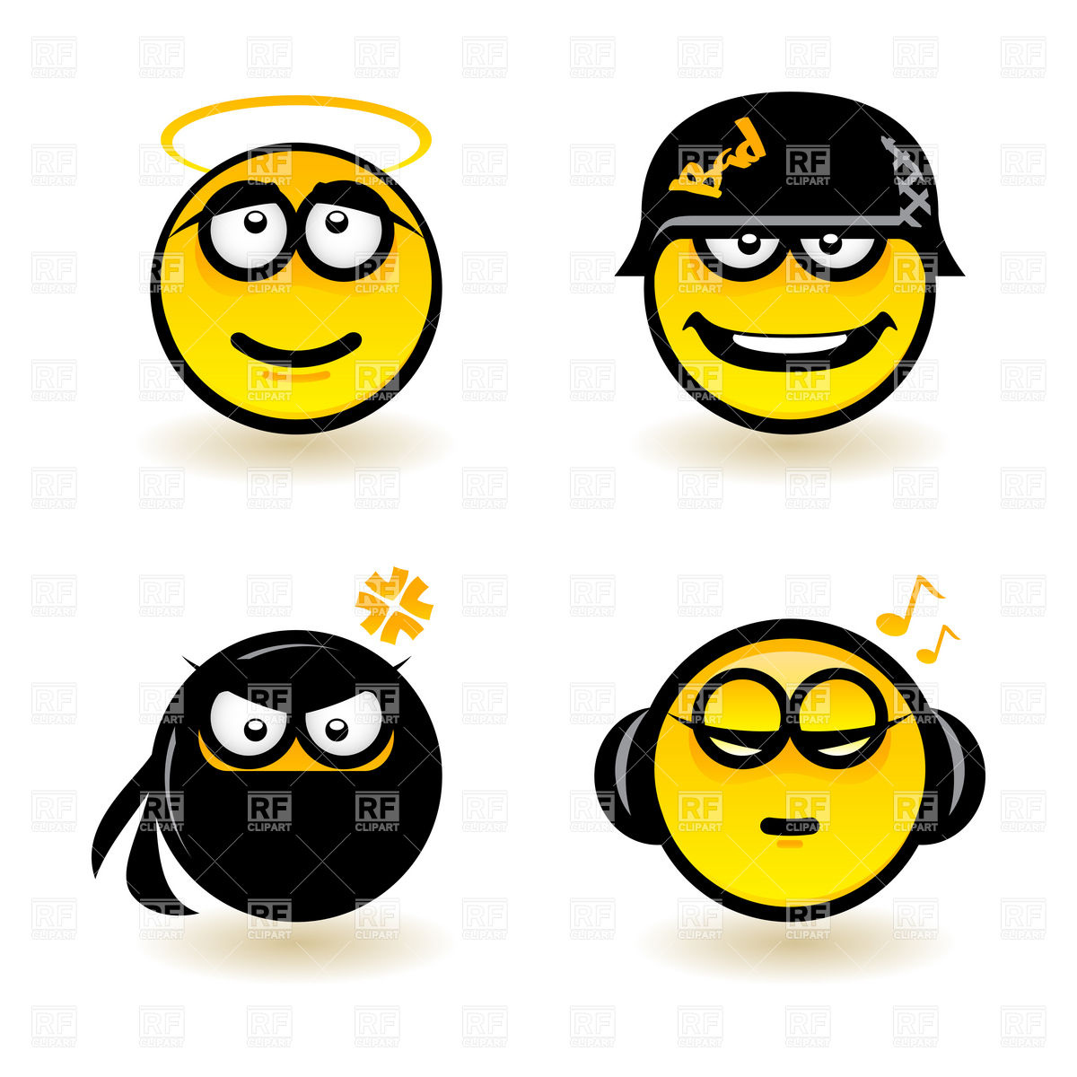 1200x1200 Smiley Emotions