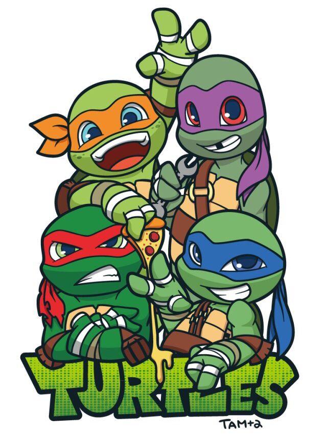 640x853 Ninja Turtles Clipart Cute 3742342