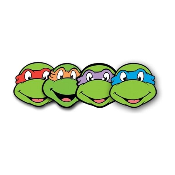 600x600 Tmnt With City Clipart
