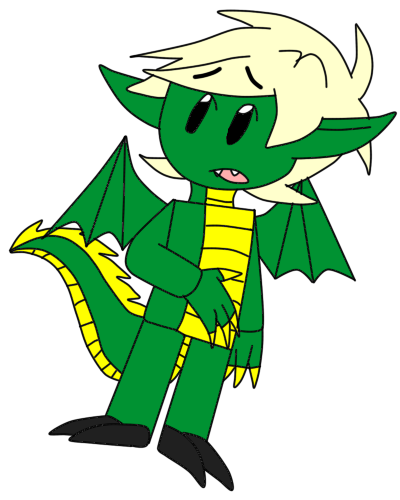 400x500 Ninjago Dragon Lloyd By Laura10211
