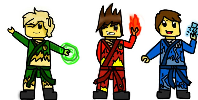635x322 Ninjago Part 3 (Lloyd,kai And Jay) By Beatriz1609